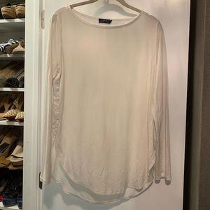 POLO Ralph Lauren white long sleeve top blouse